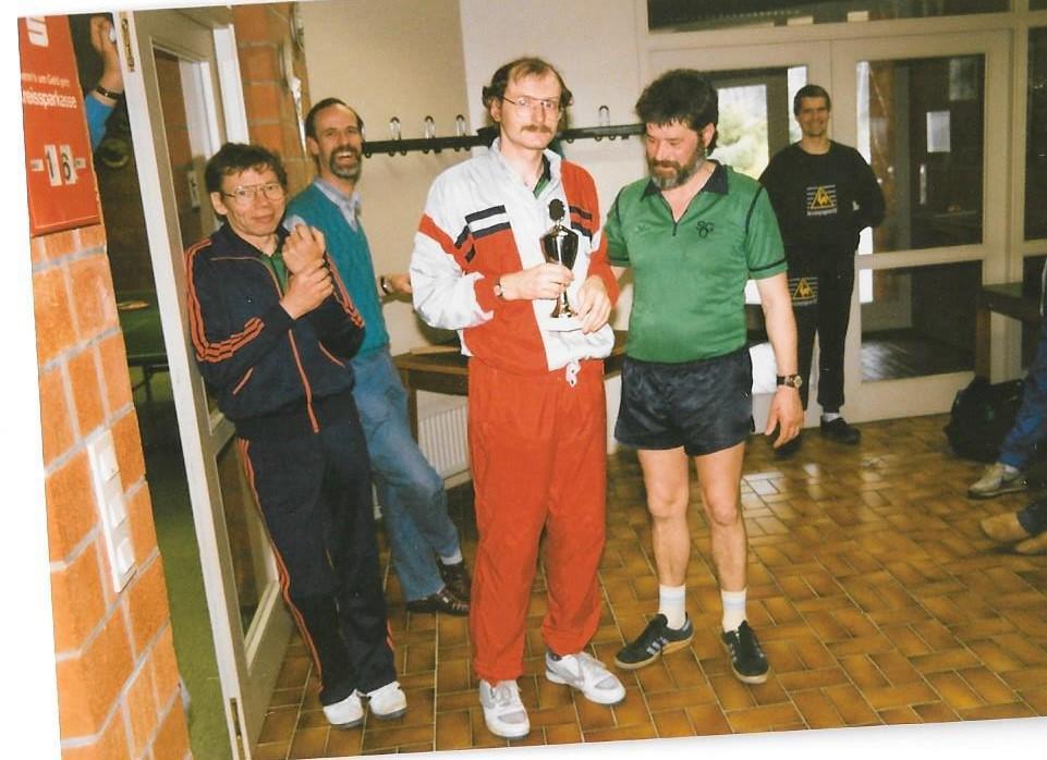 SG Unterstedt Tischtennis 15-jähriges Jubiläum 1989
