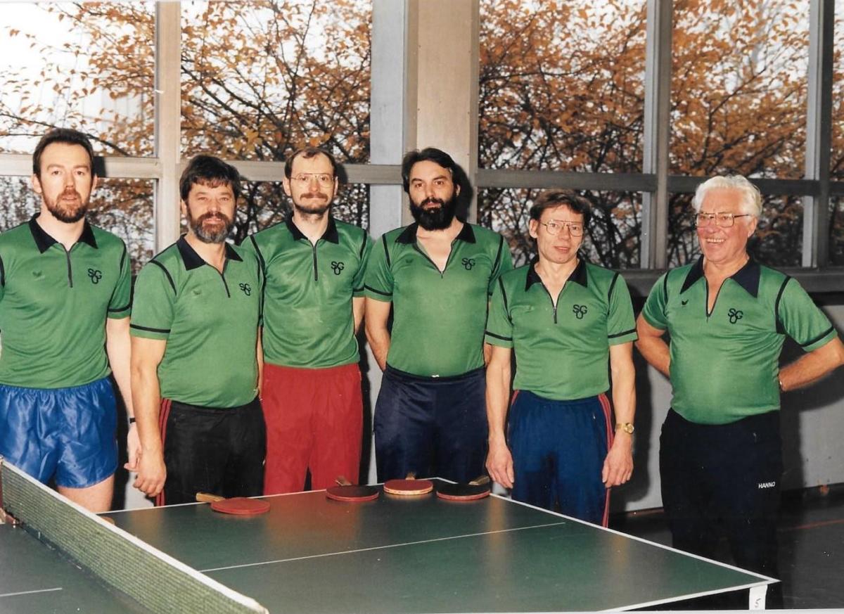 SG Unterstedt Tischtennis 2. Herren 1989
